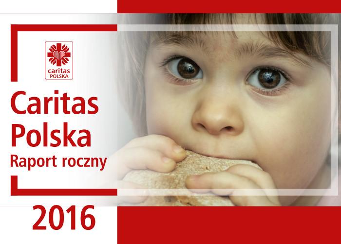 Raport roczny Caritas Polska 2017