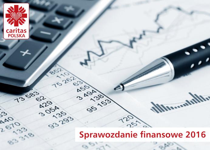 Sprawozdanie finansowe Caritas Polska 2017