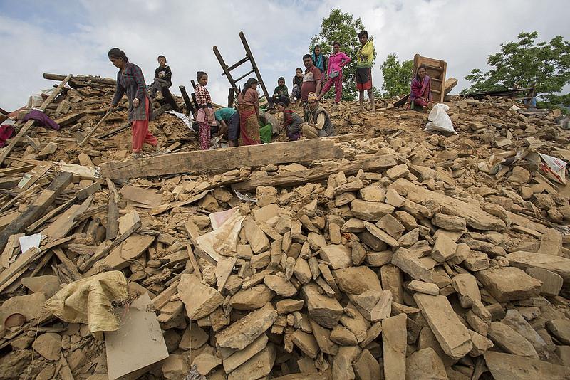 Transport pomocy humanitarnej dla Nepalu 4